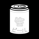 beer_canned-blackwhite
