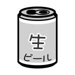 beer_canned-monochrome