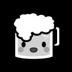 beer_mug-character-monochrome