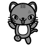 cat_angry-monochrome
