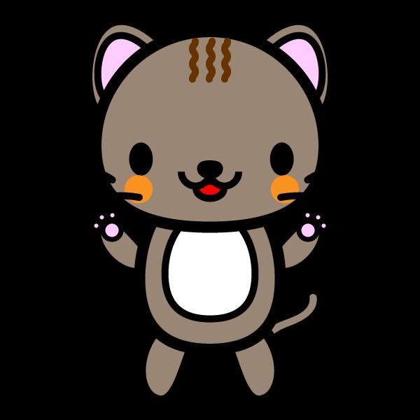 かわいい猫の無料イラスト・商用フリー