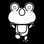 frog_01-angry-blackwhite