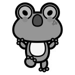 frog_01-angry-monochrome