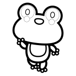 frog_01-enjoy-blackwhite