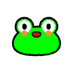 frog_01-face-handwrittenstyle