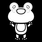 frog_01-glad-blackwhite