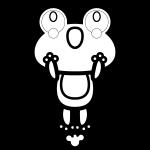 frog_01-jump-blackwhite