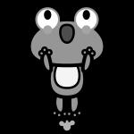 frog_01-jump-monochrome