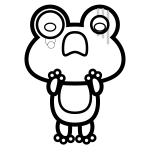 frog_01-shock-blackwhite