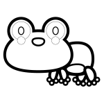 frog_01-side-blackwhite