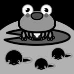 frog_01-tadpole-monochrome