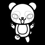 panda_01-angry-blackwhite