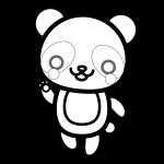 panda_01-enjoy-blackwhite
