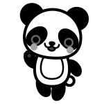 panda_01-enjoy-monochrome