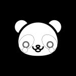 panda_01-face-blackwhite