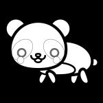 panda_01-side-blackwhite