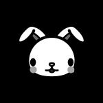 rabbit_face-monochrome