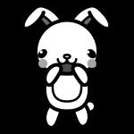 rabbit_glad-monochrome