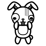 rabbit_shock-monochrome