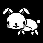 rabbit_side-monochrome