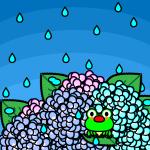 rainyseason_01-hydrangea-frog01