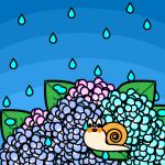 rainyseason_01-hydrangea-snail01