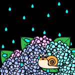 rainyseason_01-hydrangea-snail02