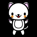 white-cat_stand