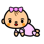 baby-girl_crawl