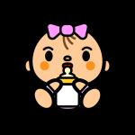 baby-girl_milk