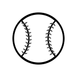 baseball-o_ball-monochrome