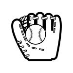 baseball-o_glove-ball-blackwhite