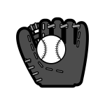 baseball-o_glove-ball-monochrome