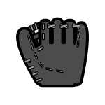 baseball-o_glove-monochrome