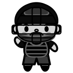 baseball_umpire-monochrome