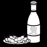beer_bottled-green-soybeans-blackwhite