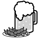 beer_mug-green-soybeans-monochrome