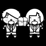 beer_toast-couple-blackwhite