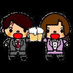 beer_toast-couple-handwrittenstyle