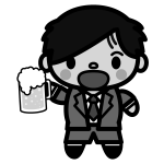 beer_toast-man-monochrome