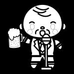 beer_toast-president-blackwhite