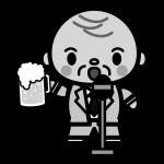 beer_toast-president-monochrome