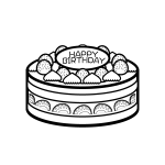 birthday_cake01-blackwhite