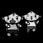couple_school02-monochrome