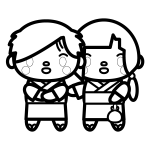 couple_yukata01-blackwhite