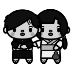 couple_yukata01-monochrome