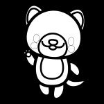 dog_enjoy-blackwhite