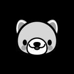 dog_face-monochrome