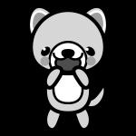 dog_glad-monochrome