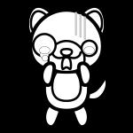 dog_shock-blackwhite